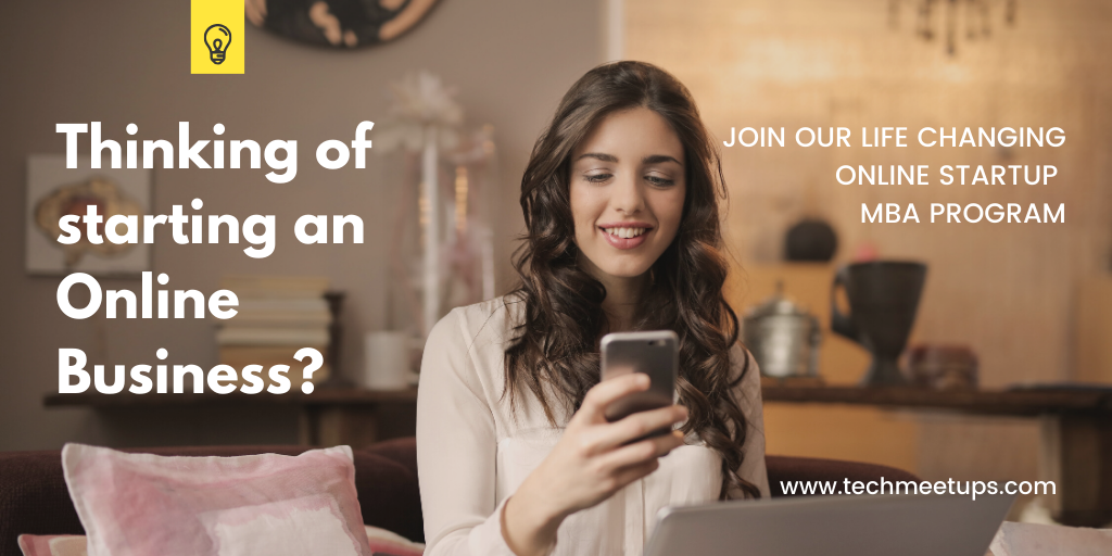 a lady looking for an online mba program